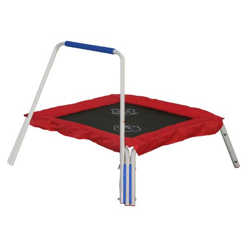 "Display product reviews for Skywalker Trampolines 36"" Square Trampoline Bouncer with Animal Sounds"