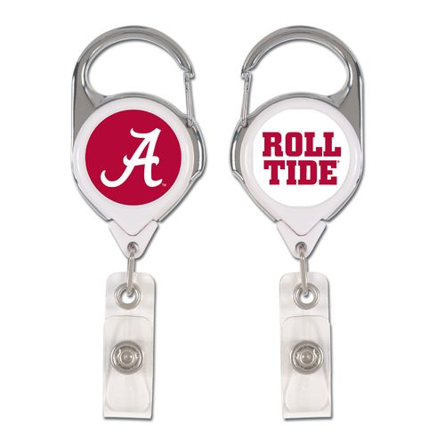 Display product reviews for WinCraft University of Alabama 2-Sided Retractable Premium Badge Holder