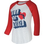Soffe Juniors' Burnout Baseball Top