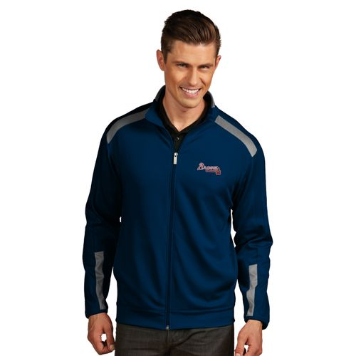 Antigua Men's Atlanta Braves Flight Jacket