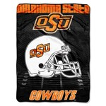 The Northwest Company Oklahoma State University Overtime Micro Raschel Throw - view number 1
