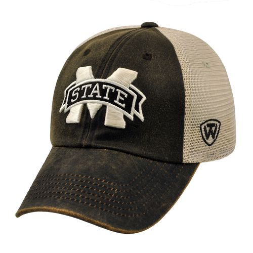 Top of the World Adults' Mississippi State University ScatMesh Cap