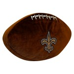 The Northwest Company New Orleans Saints Football Shaped Plush Pillow - view number 1