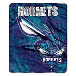 The Northwest Company Charlotte Hornets Dropdown Raschel Throw - view number 1