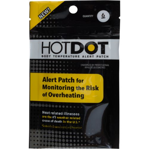 Hot Dot Alert Patches 6-Pack