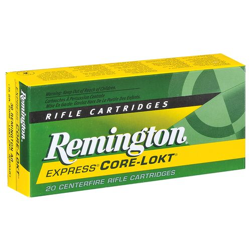 Remington 7mm-08 Remington 120-Grain Centerfire Rifle Ammunition