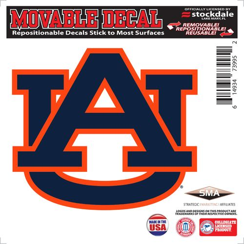 "Stockdale Auburn University 6"" x 6"" Decal"