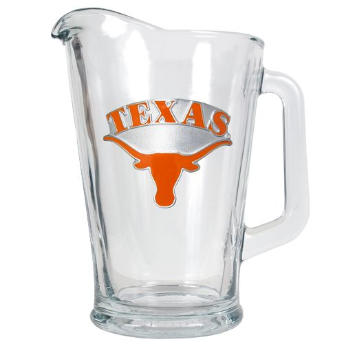 Great American Products University of Texas 1/2-Gallon Glass Pitcher