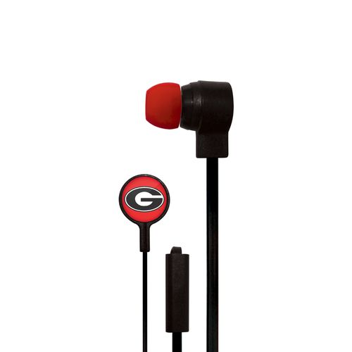 Mizco University of Georgia Big Logo Earbuds
