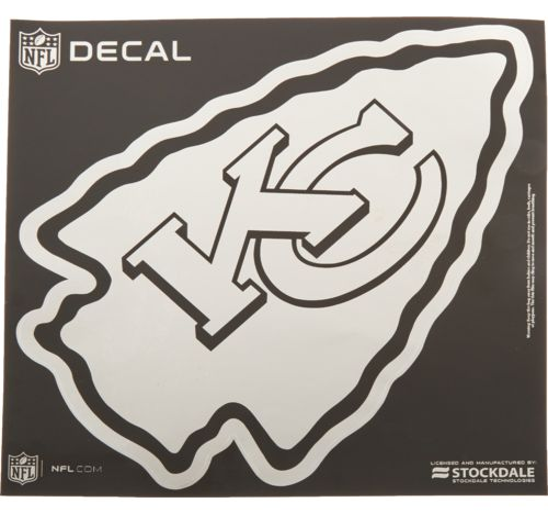 Stockdale Kansas City Chiefs Metallic Decal
