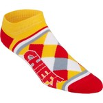 For Bare Feet Adults' Kansas City Chiefs No Show Socks