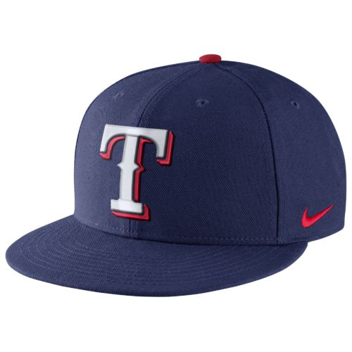 Nike Men's Texas Rangers True Flat Bill Cap