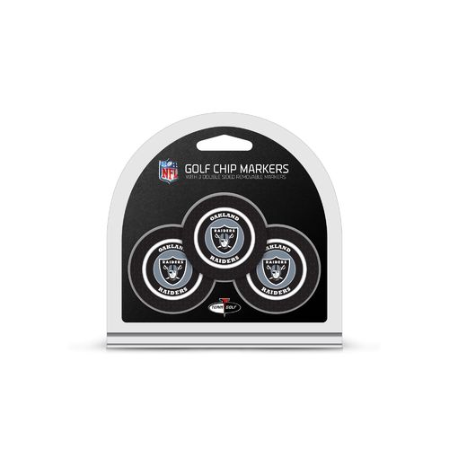 Team Golf Oakland Raiders Poker Chip and Marker Set - view number 1
