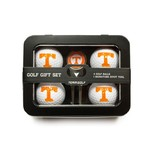 Team Golf University of Tennessee 4-Ball Tin Gift Set