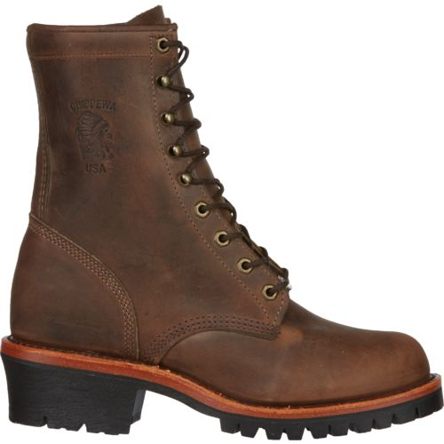 Chippewa Boots® Men's Apache Utility Logger Rugged Outdoor Boots