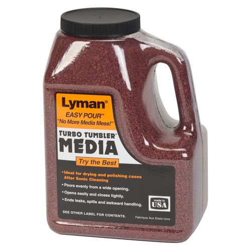Display product reviews for Lyman Tufnut 3 lb Case Cleaning Media
