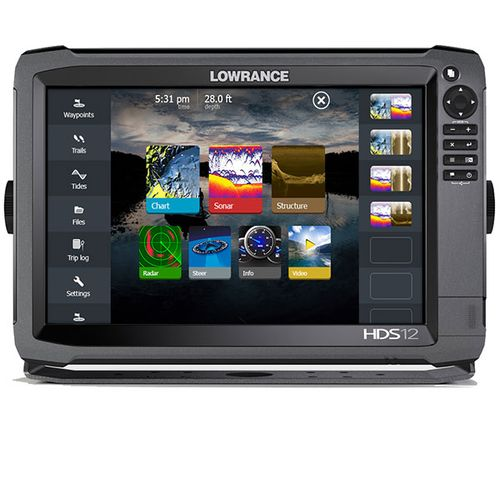 Lowrance HDS-12 Gen3 Touch Screen Sonar/GPS Fishfinder