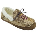 Campus Footnotes Men's Texas A&M University Realtree Camo Microfiber Moccasins