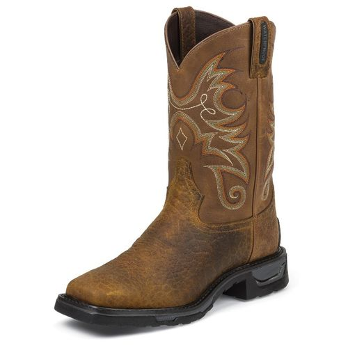 Tony Lama Men's Sierra Badlands TLX® Waterproof Western Work Boots