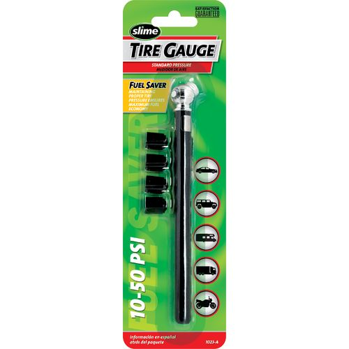 Slime Pencil 10 - 50 PSI Tire Gauge