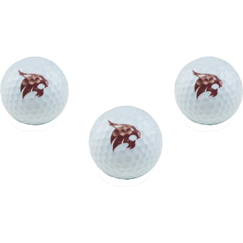 Team Golf Texas State University Golf Balls 3-Pack - view number 1
