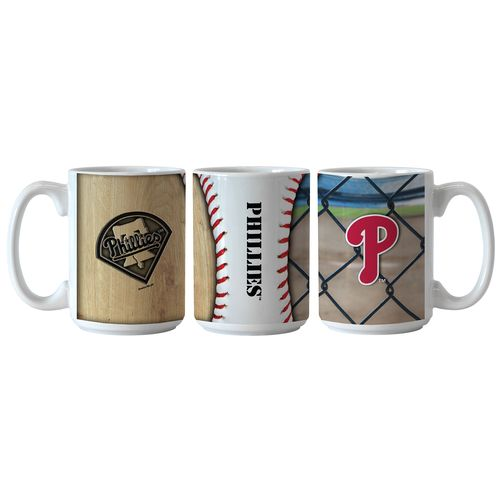 Boelter Brands Philadelphia Phillies Ballpark Coffee Mugs 2-Pack