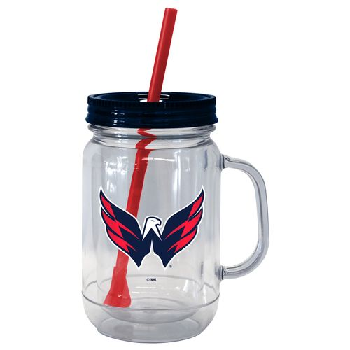 Boelter Brands Washington Capitals 20 oz. Handled Straw Tumblers 2-Pack