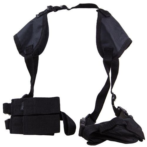 Bulldog 2.5 in - 3.75 in Barrel Compact Automatic Handgun Shoulder Holster System