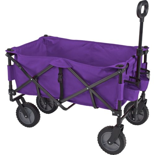 Academy Sports + Outdoors Folding Sport Wagon with Removable Bed