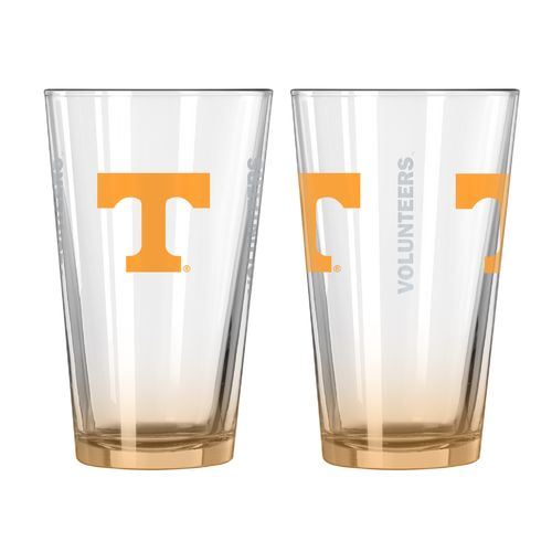 Boelter Brands University of Tennessee Elite 16 oz. Pint Glasses 2-Pack