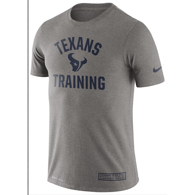Nike Men's Houston Texans Dri-FIT Cotton Training T-shirt