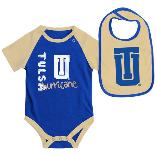 Colosseum Athletics Infants' University of Tulsa Rookie Onesie and Bib Set