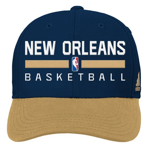 adidas™ Boys' New Orleans Pelicans Adjustable Practice Cap