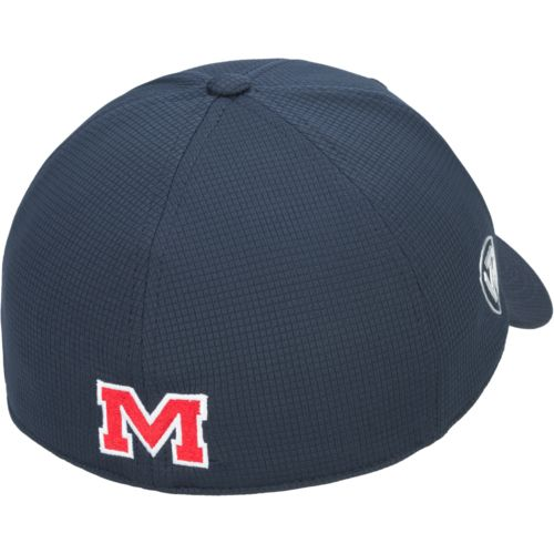 Top of the World Men's University of Mississippi Booster Plus Cap - view number 2