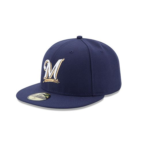 New Era Men's Milwaukee Brewers 2016 59FIFTY Cap - view number 1