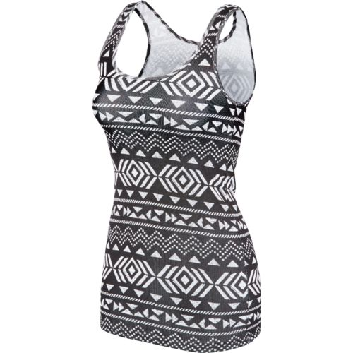 BCG Women's Tribal Print Tank Top