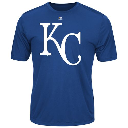 Majestic Men's Kansas City Royals Synthetic Official Logo T-shirt