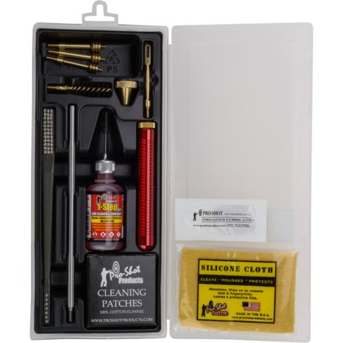 Pro-Shot Products Classic Box .38 - .45 Pistol Cleaning Kit