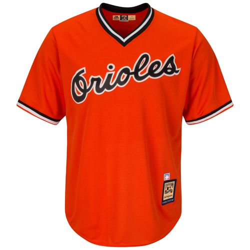 Majestic Men's Baltimore Orioles Cal Ripken Jr. #8 Cooperstown Cool Base 1965-66 Replica Jersey - view number 2