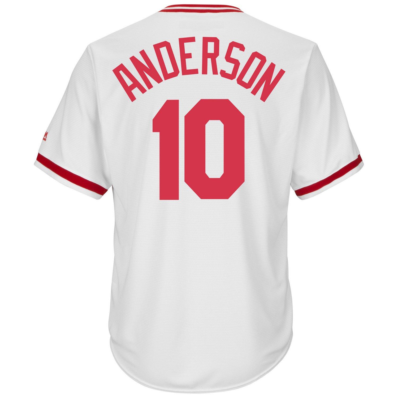 Majestic Men's Cincinnati Reds Sparky Anderson #10
