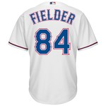 Majestic Men's Texas Rangers Prince Fielder #82 Cool Base® Alternate Jersey