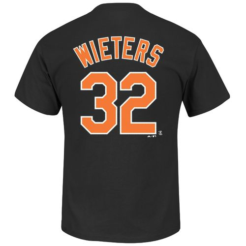 Majestic Men's Baltimore Orioles Matt Wieters #32 Wordmark