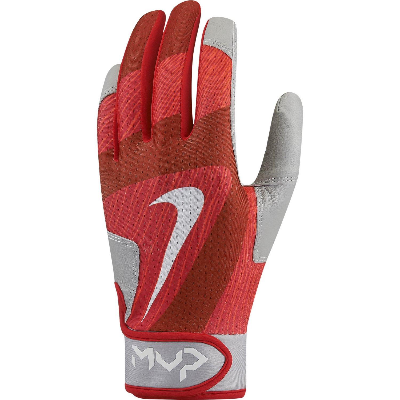 Nike Batting Gloves Orange: Red Nike Gloves