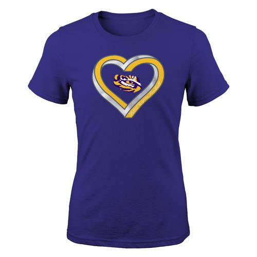 Gen2 Girls' Louisiana State University Infinite Fashion Fit T-shirt