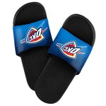 Forever Collectibles™ Men's Oklahoma City Thunder Textured Sport Slides