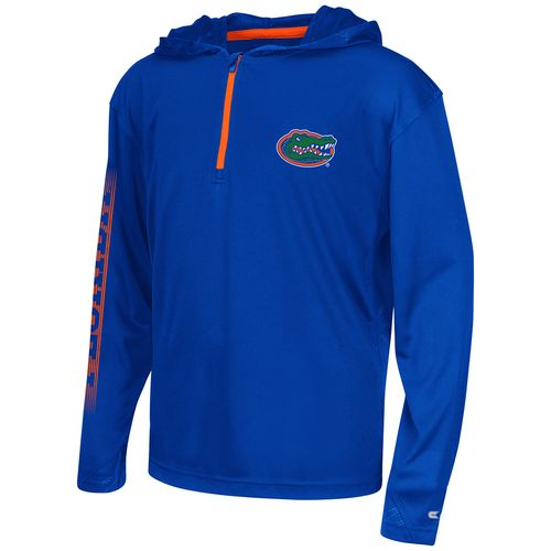 Colosseum Athletics™ Boys' University of Florida Sleet 1/4 Zip Hoodie Windshirt