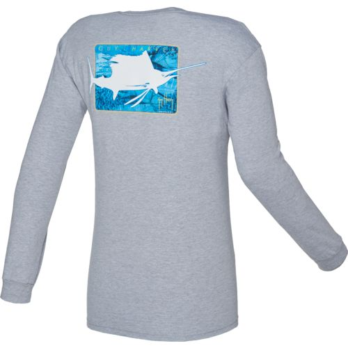 Guy Harvey Men's Deeper Long Sleeve T-shirt