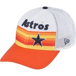 New Era Men's Houston Astros Rainbow Mesh 9FORTY Snapback Cap