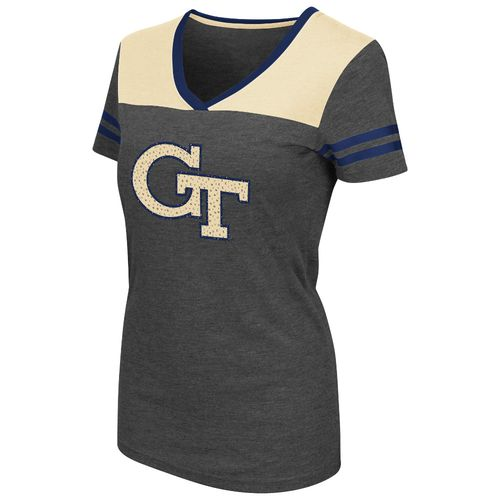 Colosseum Athletics™ Women's Georgia Tech Twist V-neck T-shirt
