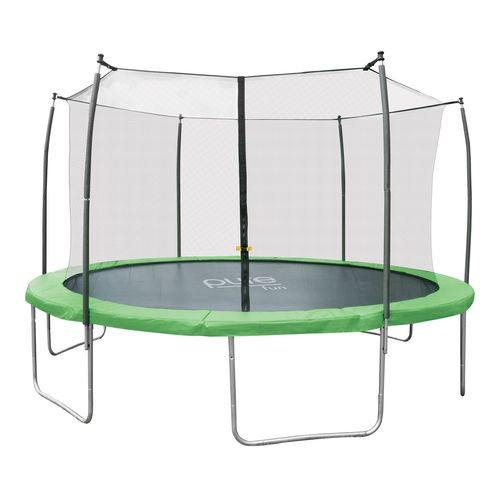 Pure Fun Dura-Bounce 14' Trampoline with Enclosure
